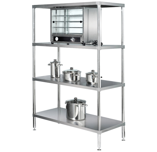 Adj. Storage Shelving 4 Tier