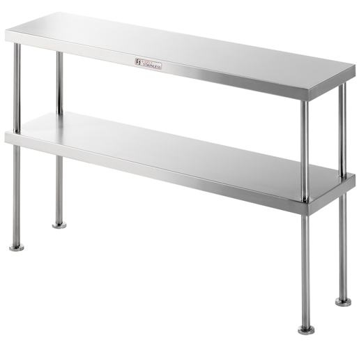 Double Bench Overshelf