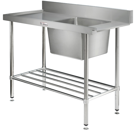 Dish Wash Inlet Bench With Sink